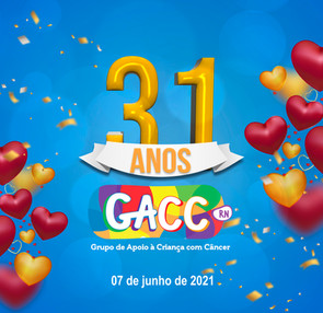 ANIVERSÁRIO 31 ANOS GACC-RN