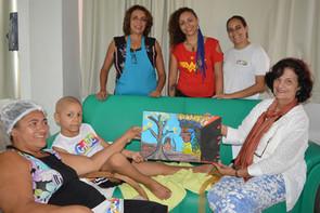 GACC-RN recebe visita da vereadora Prof. Eleika Bezerra e presta conta de doações para projetos artí