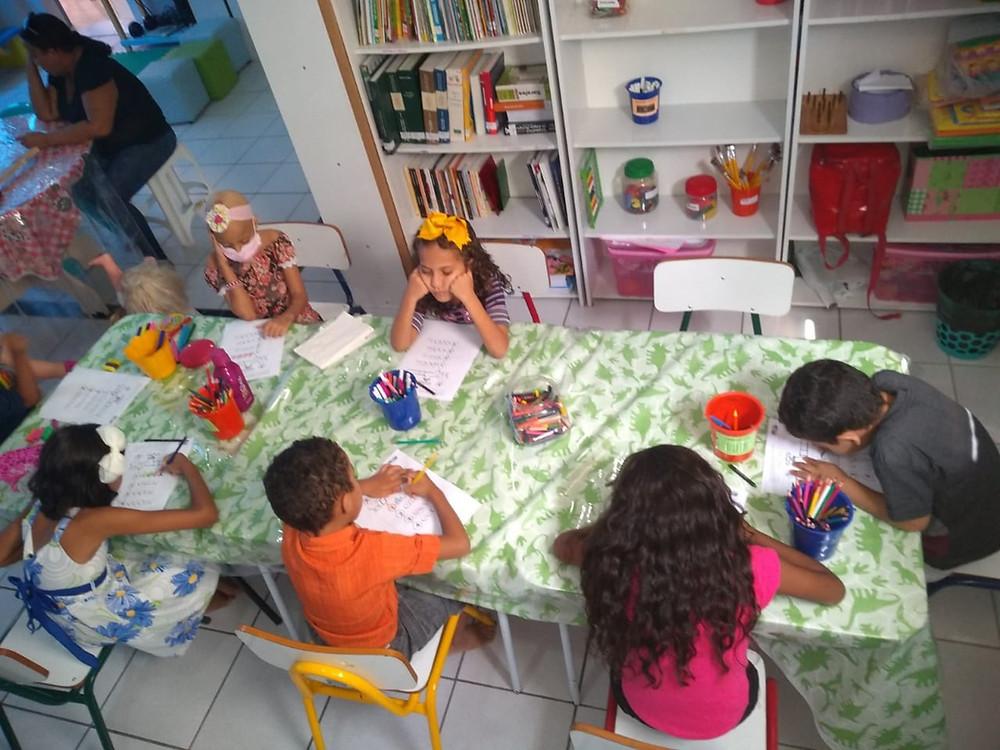Classe domiciliar em atividade curricular