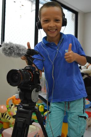 Projeto TV GACC visa proporcionar às crianças assistidas o acesso à informação através de conteúdos