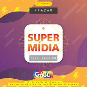 Loja do GACC-RN no Natal Shopping recebe Bazar Super Mídia nesta quinta-feira