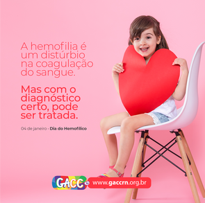 4 de janeiro – Dia do Hemofílico
