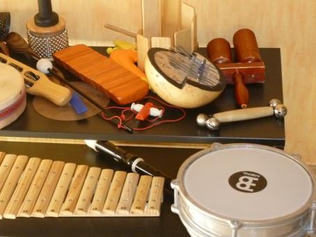 Mes outils de musicothérapeute#1 L'UTILISATION DES INSTRUMENTS