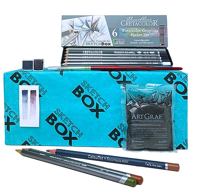 Monthly Sketchbox Premium Prizes for Participating Members