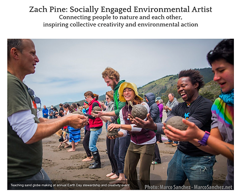 UNM Conversation with Zach Pine, Socially Engaged Environmental Artist