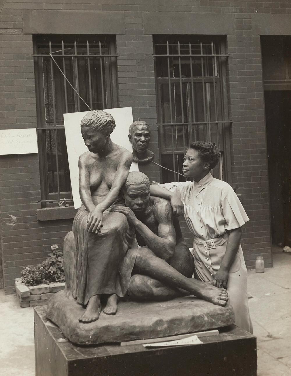 Augusta Savage in 1938