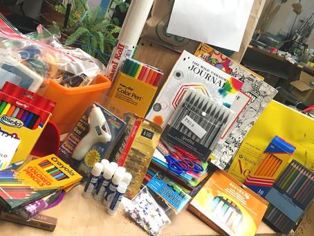 Free Art Supplies From Vital Spaces Community Art Closet