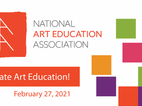 Awards + Artist Talk + NAEA's Future: This Saturday!