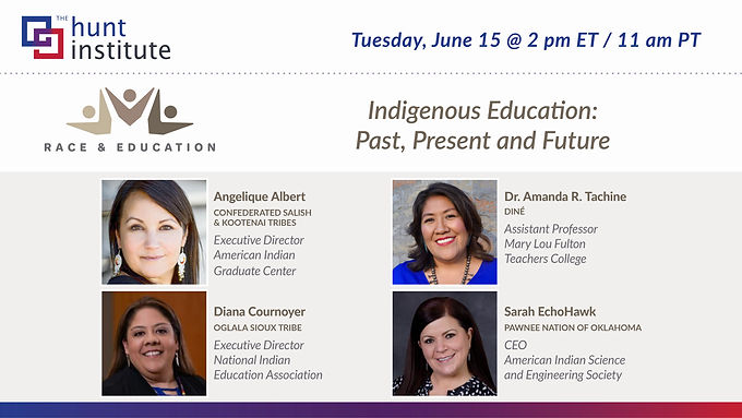 Webinar with Experts on American Indigenous Education and Hopes for Liberation