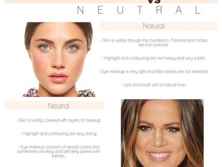 Natural VS Neutral