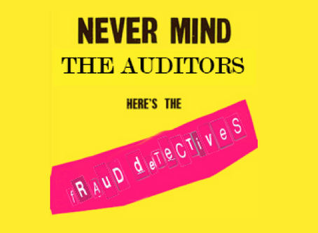 In defence of External Auditors