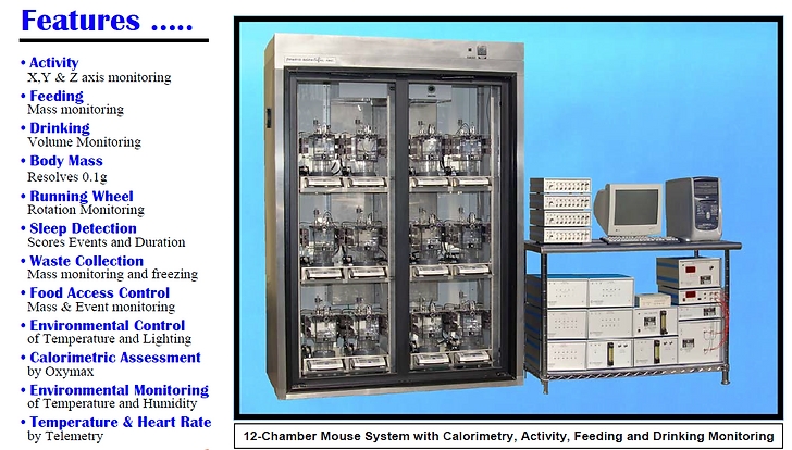 Columbus Instruments Comprehensive Lab Animal Monitoring System
