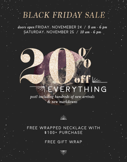 Swoon BF Sale Store Email