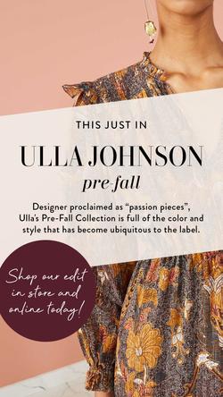 Ulla Johnson IG Story 1