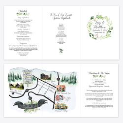 Wedding Guide with Map