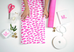 Pink Dot Wrapping Paper