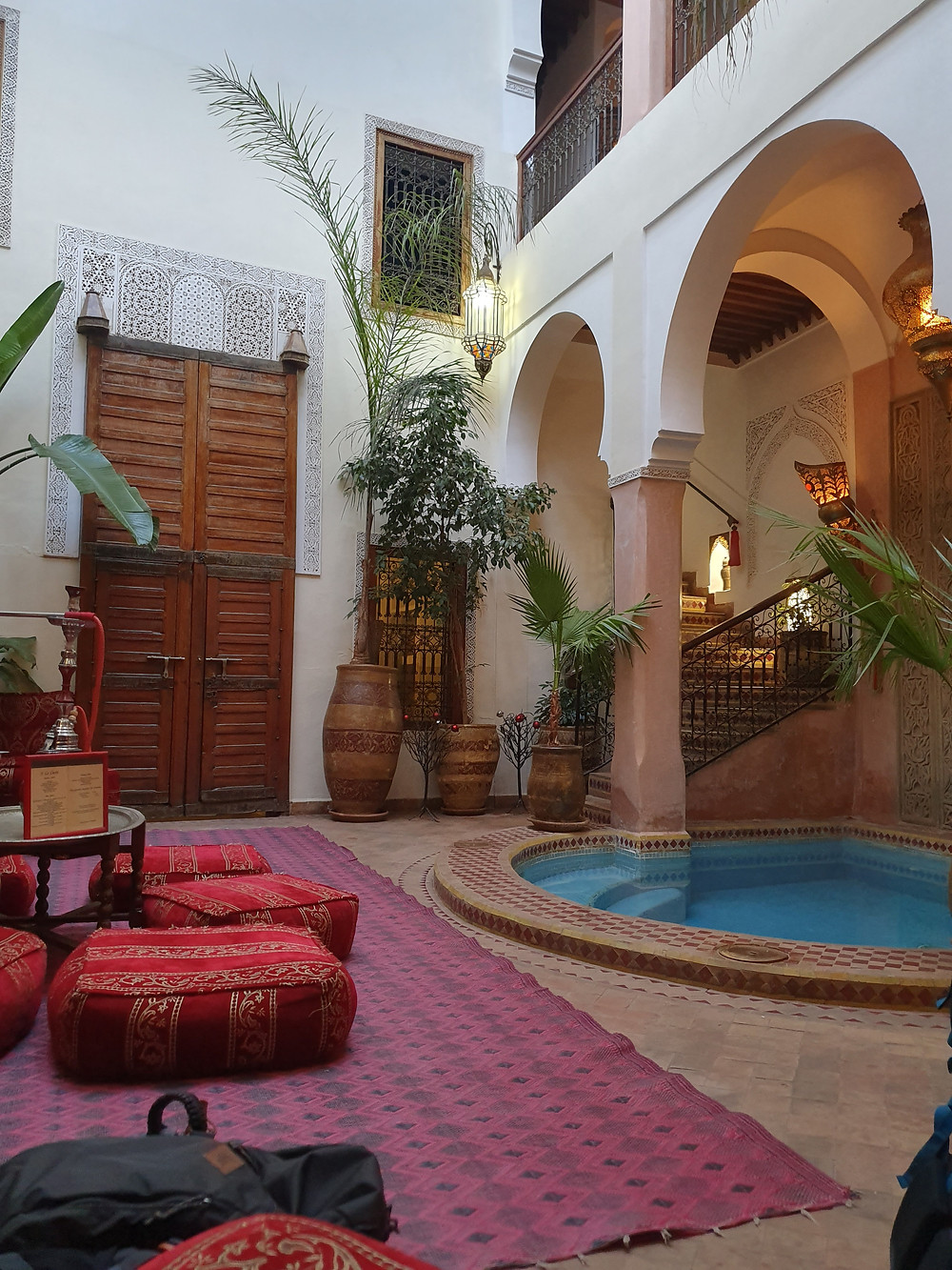 Riad à Marrakech Piscine spa
