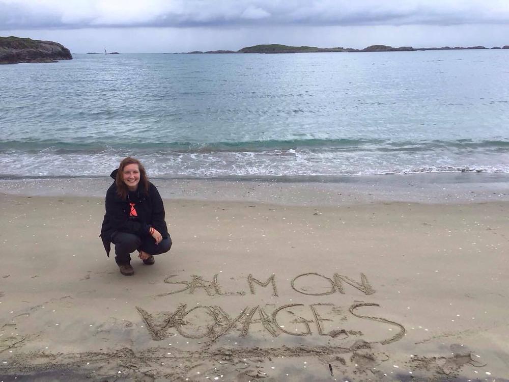 Salmon Voyages dans les îles Lofoten, Norvège