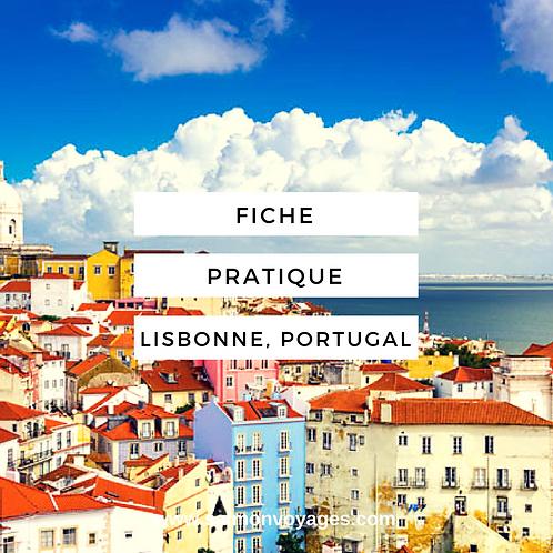 Fiche Pratique - Lisbonne