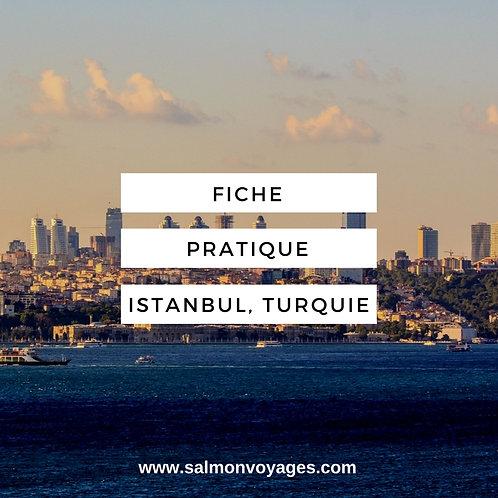 Fiche Pratique - Istanbul