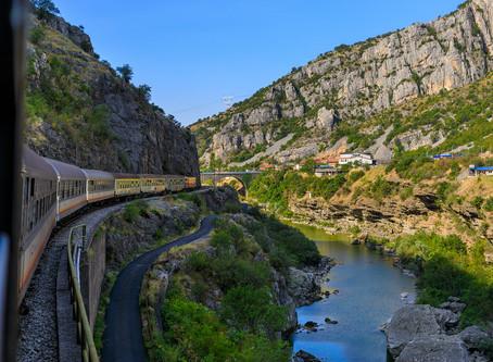 Découvrez le Monténégro en train