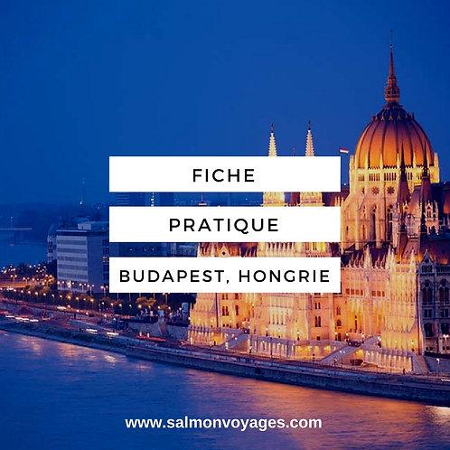 Fiche Pratique - Budapest