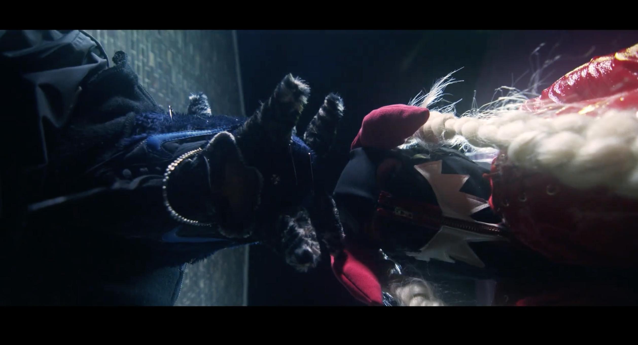 Still from Laurel Smith music video