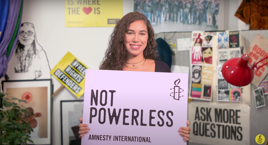Reporting for Amnesty International