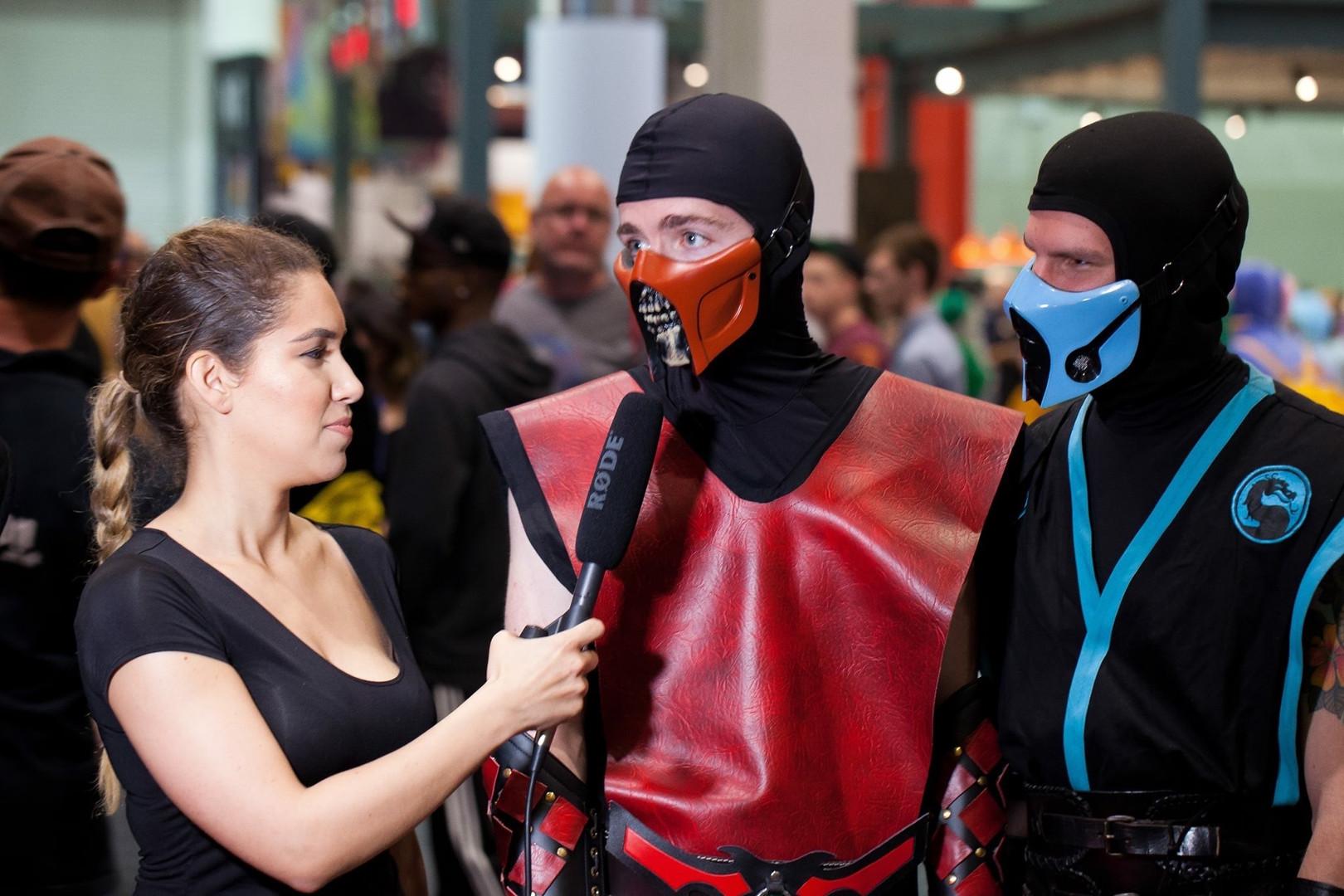 at Comic Con
