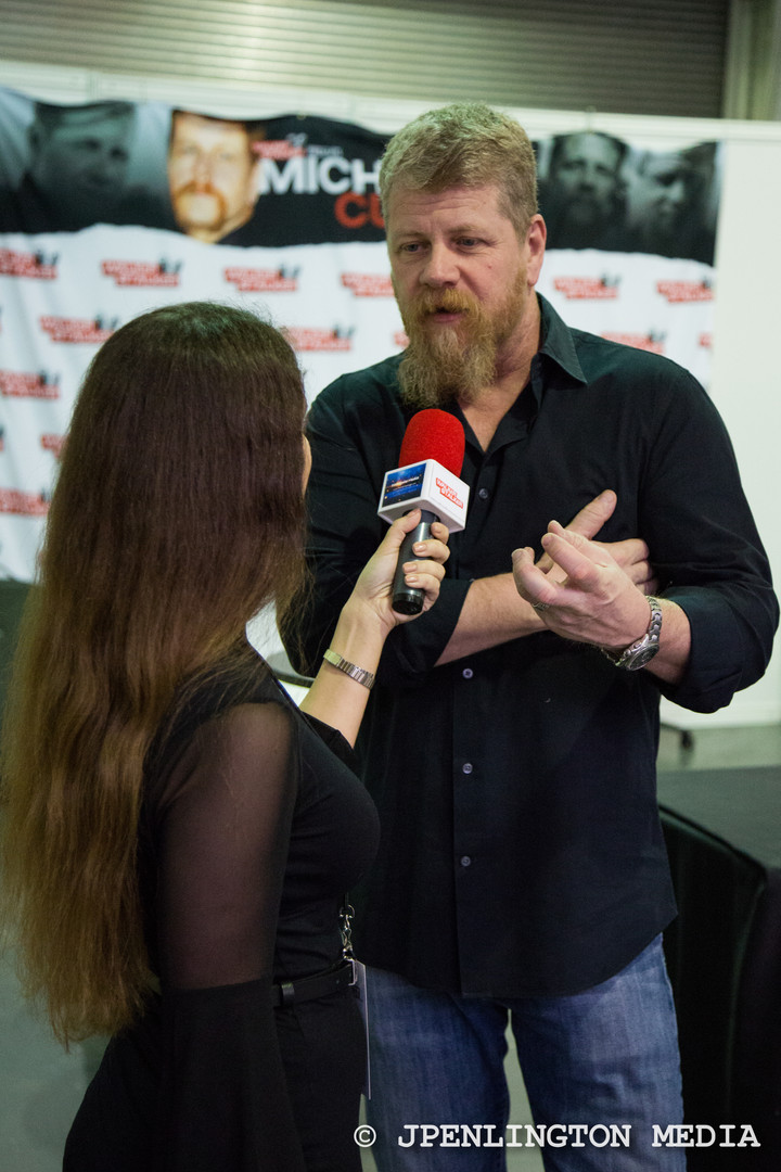 Walking Dead cast interview, with Michael Cudlitz