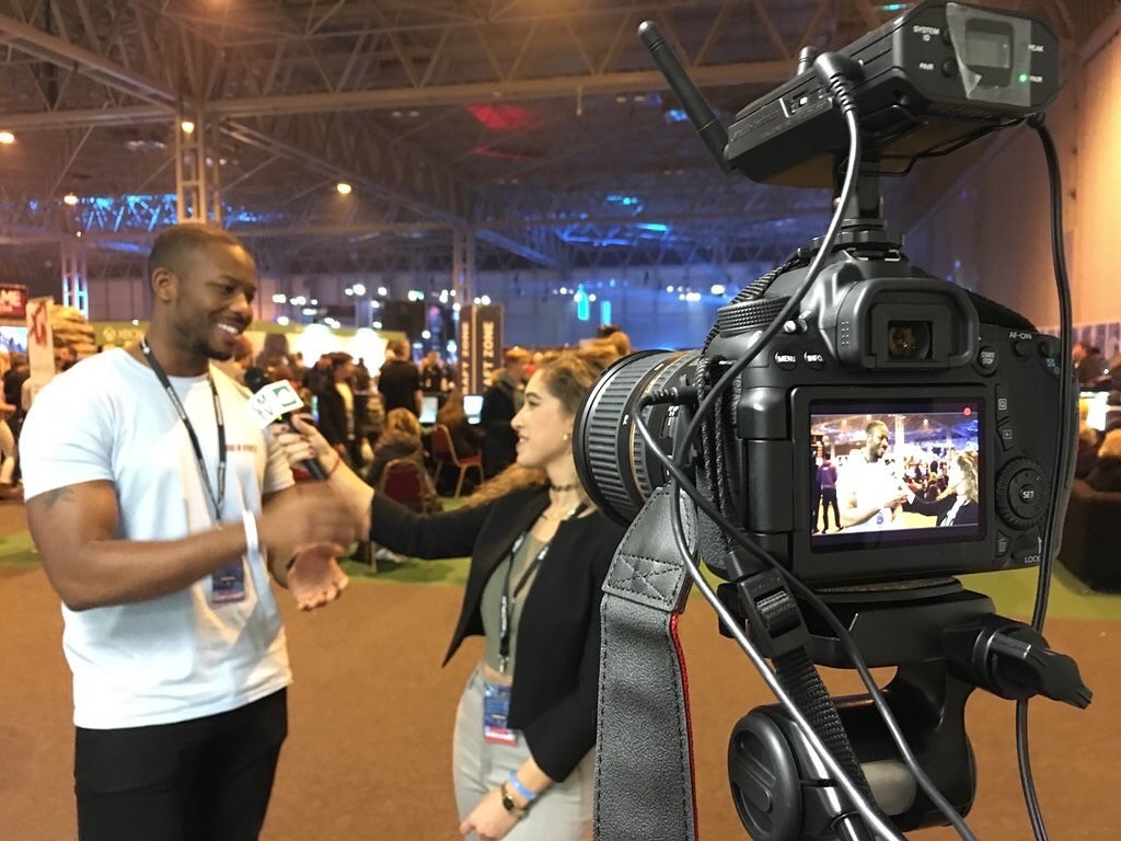 Interviewing Big B Statz at Insomnia