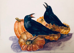 Crowing for October