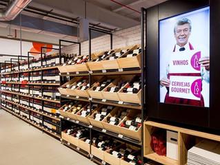 Vinhos e cervejas gourmet: mobiliários inovadores