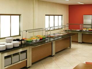 Cuidados na exposição e conservação dos alimentos em Buffet Self-Service