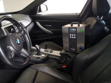 Shalom Valet: Oxi-Sanitização de Veículos com eficácia