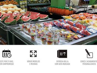 Grab and Go: Conveniência e praticidade na alimentação