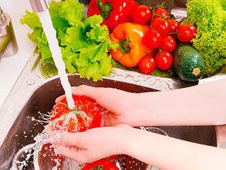 Sanitização de Alimentos: Frutas, verduras e legumes com qualidade e maior vida útil.