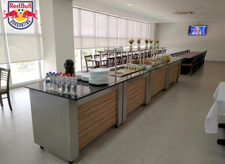 Futebol: Red Bull Brangantino moderniza o restaurante do CT esportivo