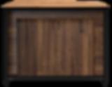 Balcão Liso com Portas Giratórias Industrial Allkit