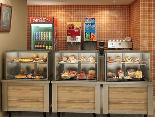 Cafeterias Grab N` Go: Atendimento rápido com qualidade