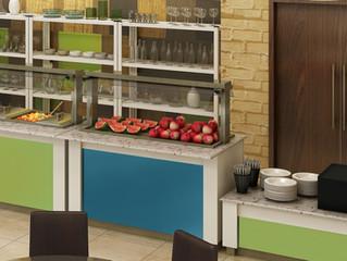 Balcão Buffet Fit Food: Saudabilidade com Exposição de Qualidade