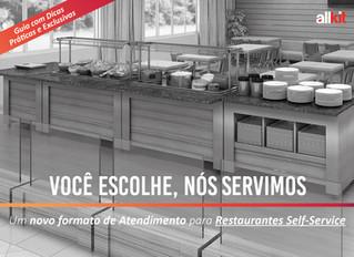 """""""Você escolhe, nós servimos"""": Um novo formato para os Restaurantes Self-Service"""