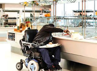 PcD : Acessibilidade em Restaurantes e Estabelecimentos de Alimentação