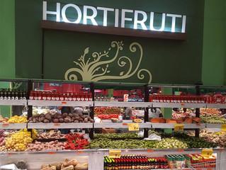 Hortifruti nos Supermercados Dalben: Exposição atrativa que valoriza os produtos