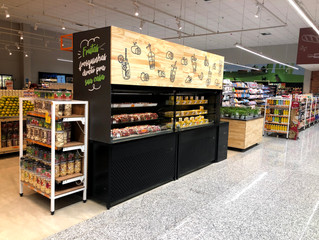 Grab N`Go de Frutas Nobres nos Supermercados