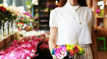 Flores e plantas ornamentais no varejo de alimentos