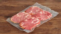 Carne embalada à vácuo