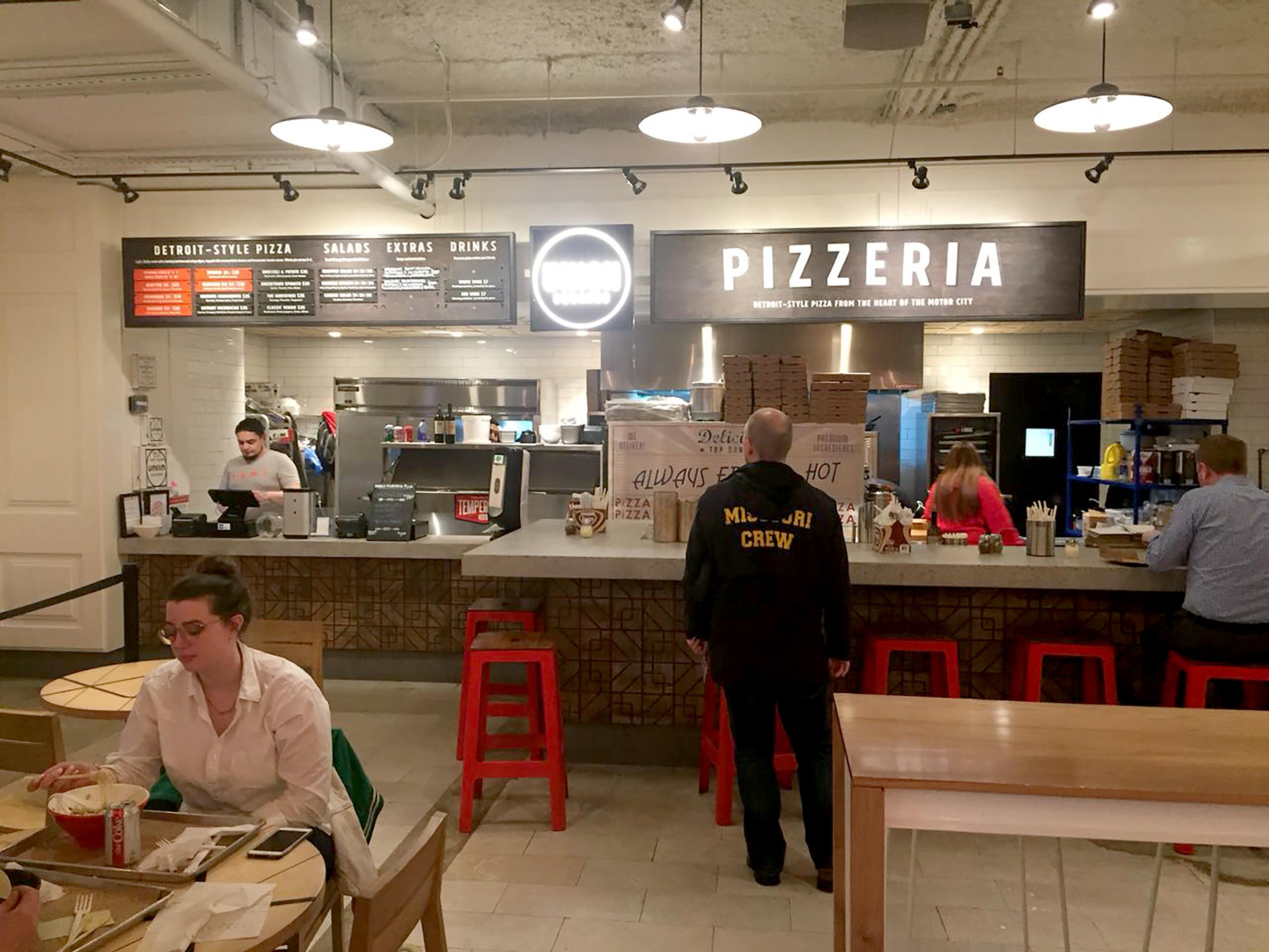 Union Squared Pizzeria