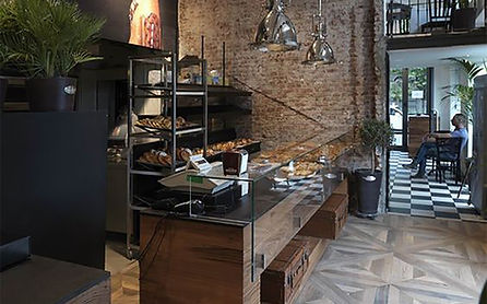 Restaurante Estilo Industrial