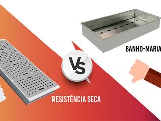 Qual o melhor sistema de Balcão Buffet Self-Service Aquecido? Banho-Maria ou com Resistência Seca?